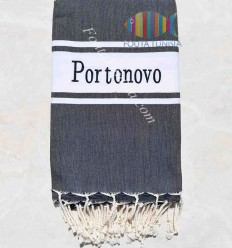embroidery beach towel PORTONOVO