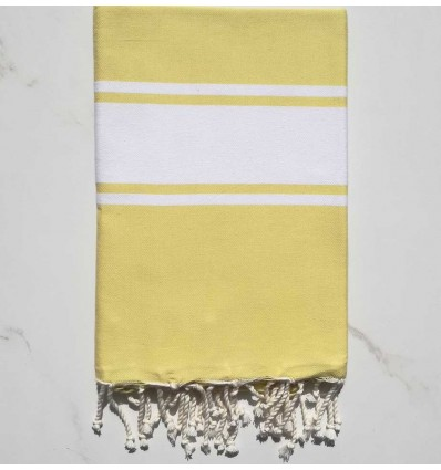 Flat imperial yellow fouta
