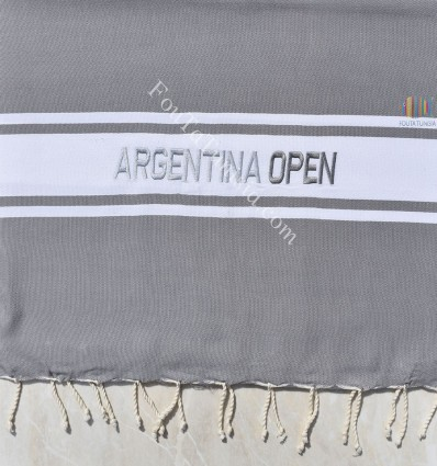 personalized beach towel ARGENTINA OPEN