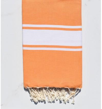 Light orange beach towel