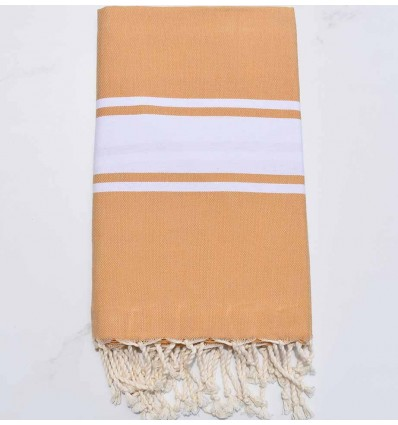 Yellow Ochre beach towel