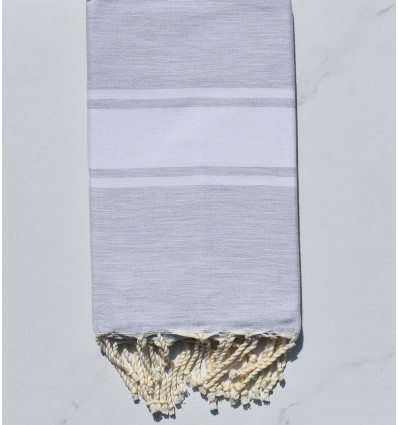 Flat light mouse grey fouta