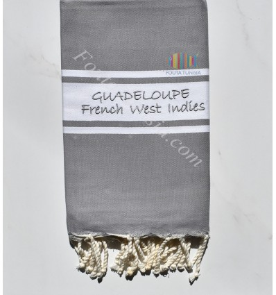 GUADELOUPE embroidery beach towel