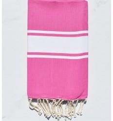 Flat dark pink fouta