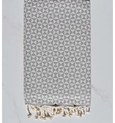 Beach towel butterfly Grey