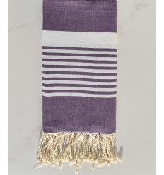 Arthur purple striped fouta