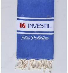 investil flat embroidery beach towel