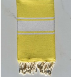 Flat yellow fouta