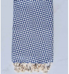 Beach towel butterfly blue