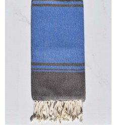 beach towel RAF-RAF blue and Brown