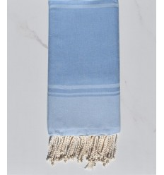 beach towel RAF-RAF blue cornflower and sky blue