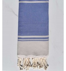 beach towel RAF-RAF lavender blue and peach