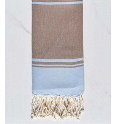 beach towel RAF-RAF blue sky and brownish brown