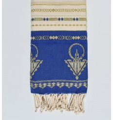 Beach towel khlela Royal blue