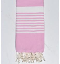 Beach towel Arthur light sweet pink