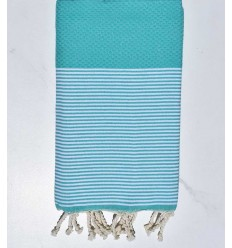 Beach Towel green waterfall