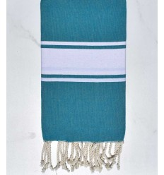 Beach Towel Flat blue Duck