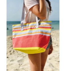 Beach bag Beach towel 5 colors clear nacart, gray, orange, sky blue and yellow