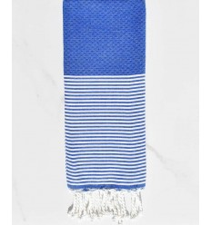Honeycomb electric blue child fouta
