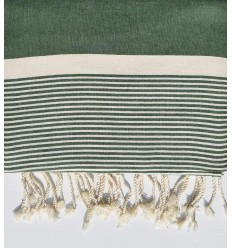 Russian green throw