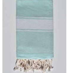frosted green beach towel sponge