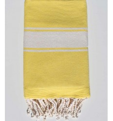 pale yellow beach towel sponge