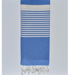 Blueberry striped throw
