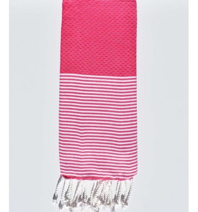 Honeycomb pink child fouta