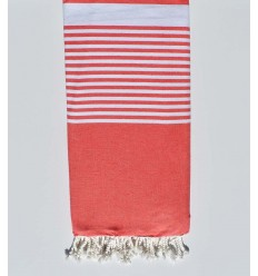 Candy apple red Throw