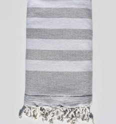 light gray and gray beach towel sponge