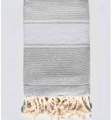 light grey beach towel sponge