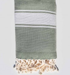 pale green beach towel sponge