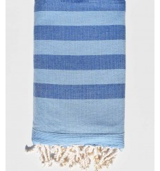 aero and cerulean blue beach towel sponge