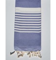 lavender blue arthur beach towel