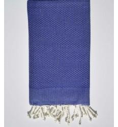 Bath Towel solid color Indigo blue