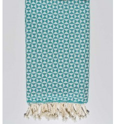 butterfly generic viridian beach towel