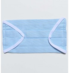 Sky blue face mask